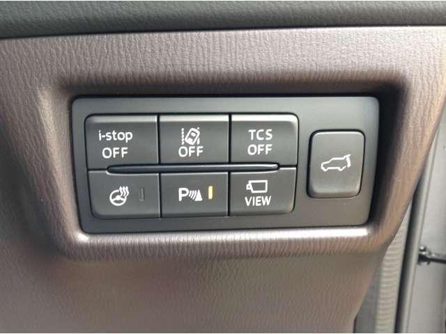 アナタの走りをサポートする安全技術i-ACTIVSENSE搭載♪側方&後方からの車両接近を知らせるBSM(RCTA)、車線を踏み越える可能性があると判断した時、警告音で注意を促すLDWS付き♪