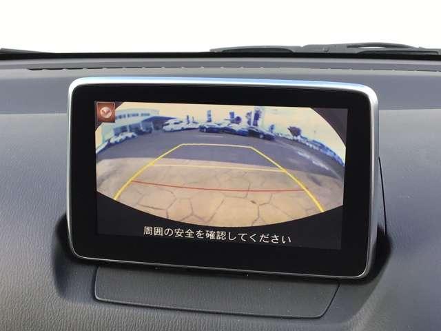 バックカメラ搭載済み!駐車が苦手な方も安心して駐車ができます。また、後方確認にも使うことができますのでとても便利です。