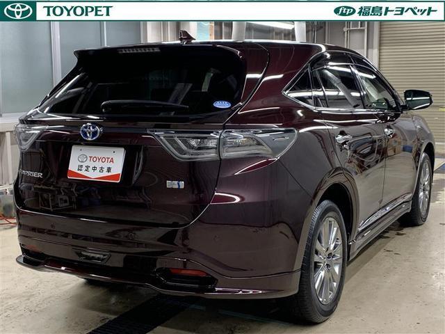 「トヨタ」「ハリアーハイブリッド」「SUV・クロカン」「福島県」の中古車3