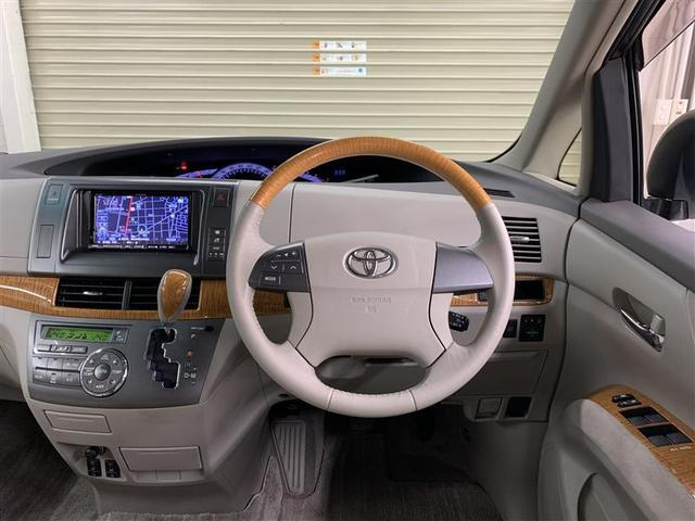 G 4WD フルセグ HDDナビ DVD再生 後席モニター バックカメラ ETC 両側電動スライド HIDヘッドライト 乗車定員7人 3列シート(5枚目)