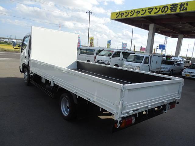 トヨタ ダイナトラック 2tディーゼルワイドロング低床三方開