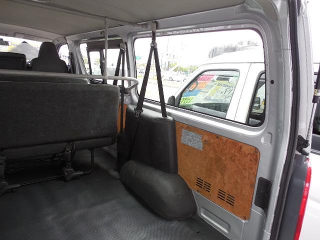 ロングDX 4D3.0ディーゼルターボ4WD寒冷地仕様3列シート9人乗りリアヒーター(8枚目)