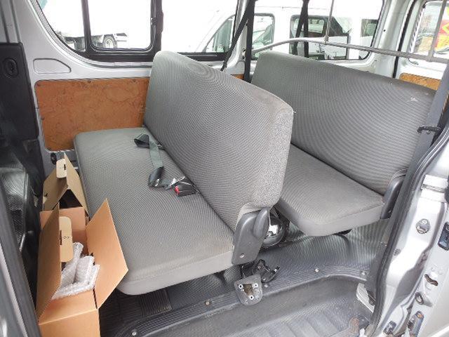 ロングDX 4D3.0ディーゼルターボ4WD寒冷地仕様3列シート9人乗りリアヒーター(11枚目)