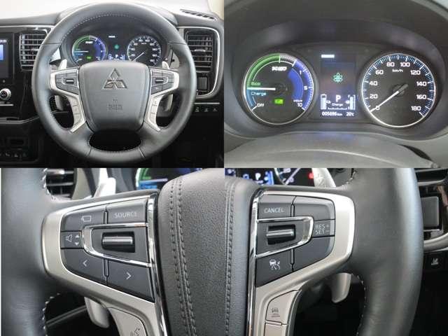 Gプラスパッケージ 4WD/試乗車/駆動用バッテリー94.7%/電気温水式ヒーター/サンルーフ/純正8型スマホ連携ナビ/マルチアラウンドビュ/AC1500W/車両検知警報/パワーシート/三菱リモートコントロール/サポカー(14枚目)