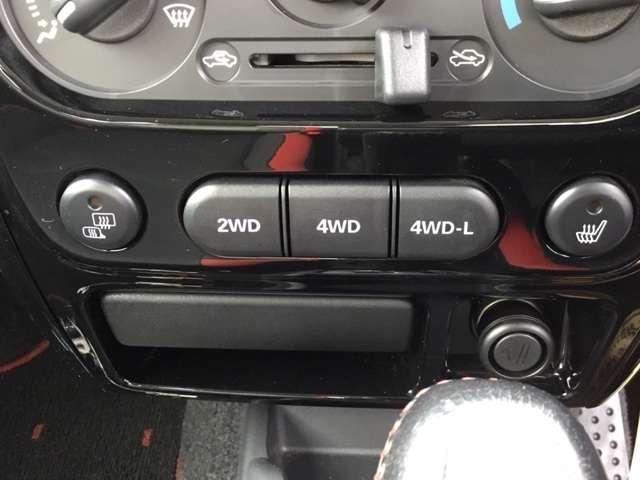 クロスアドベンチャー 660CC 軽自動車 ターボエンジン パ-トタイム4WD メモリーナビ ワンセグTV ハ-フレザーシート(本革調シートカバー) ルーフラック付き 寒冷地仕様 シートヒーター フロアマット ドアバイザー(9枚目)