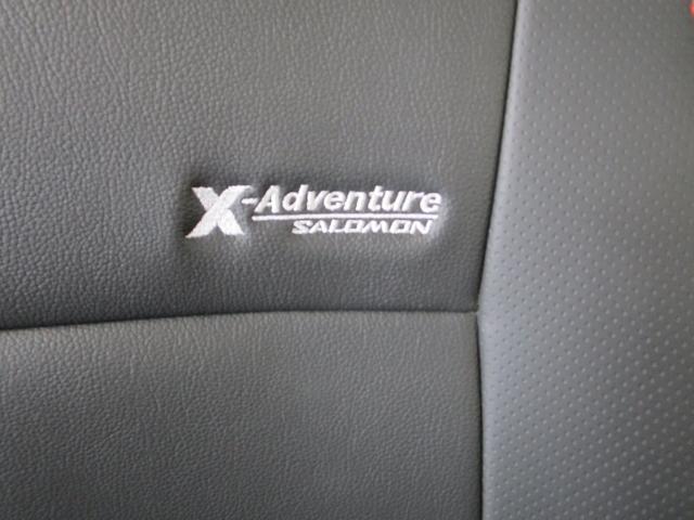 クロスアドベンチャー 660CC 軽自動車 ターボエンジン パ-トタイム4WD メモリーナビ ワンセグTV ハ-フレザーシート(本革調シートカバー) ルーフラック付き 寒冷地仕様 シートヒーター フロアマット ドアバイザー(26枚目)