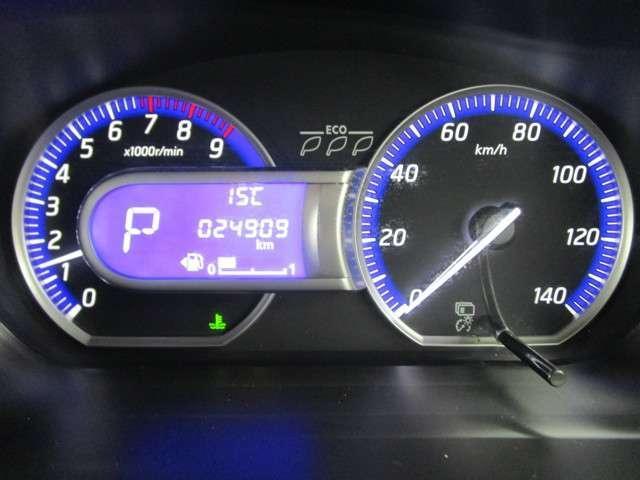 G 2WD/軽/首都圏仕入れ/バックカメラ(ルームミラー)/走行距離24909キロ/純正CDチューナ/タッチパネル式フルオートエアコン/スマートキ/アイドリングストップ/プライバシーガラス/フロアマット/(21枚目)