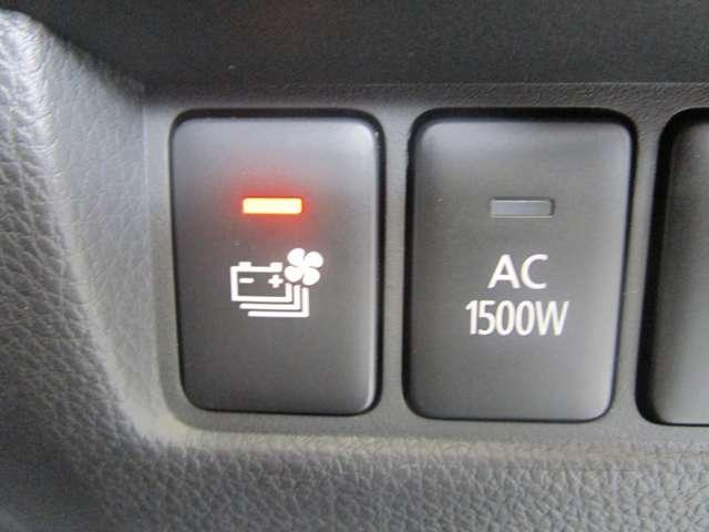 G /試乗車/駆動用バッテリー残存率97.6/ウルトラグラスコ-ティング施工済/純正ナビ/電気温水式ヒーター/後側方車両検知警報システム/アダプティブクルーズコントロール/AC100V1500W電源/禁煙(18枚目)