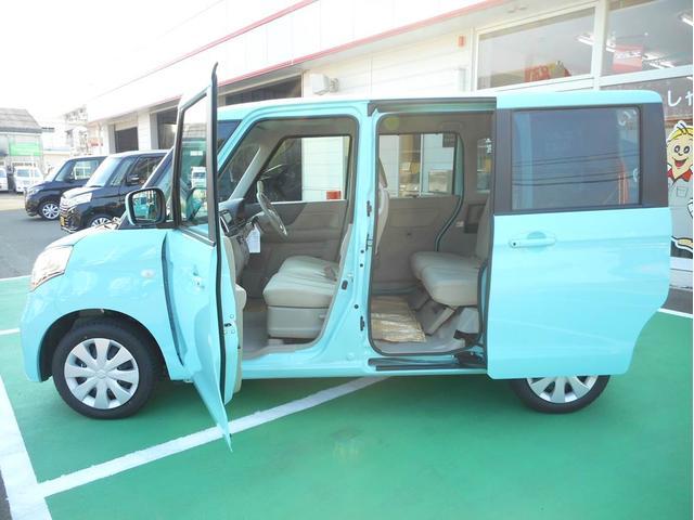 スズキ スペーシア X 全方位モニター付ナビ 左側パワースライド ちょい乗り車