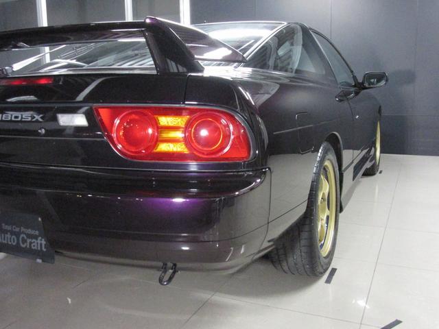 タイプX ミッドナイトパープル 社外マフラー 車高調(8枚目)