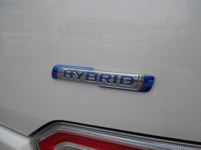 電気の力で、低燃費をアシストする「マイルドハイブリッド」。