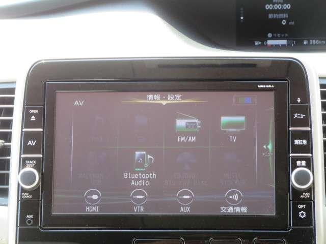 MM516D-Wオーディオ機能。ブルーレイDVD再生可・Buletooth接続可