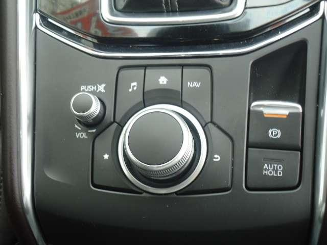 手のひらに合わせて設計されたコマンダーコントロールスイッチは使いこなせばよそ見をせずに操作が可能に!