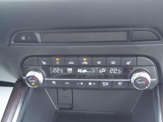 フルオートエアコン装備車内は季節に関係なく年中快適な室内空間を保ってくれます。