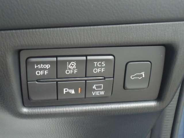i-stop・車線免脱警報・横滑り防止装置・360°モニターも装備!