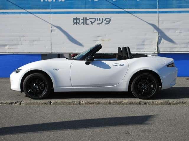 「マツダ」「ロードスター」「オープンカー」「山形県」の中古車5