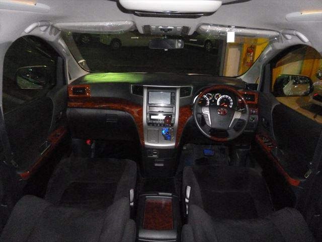 トヨタ ヴェルファイア 2.4Z プラチナムセレクション 後席モニター バックカメラ
