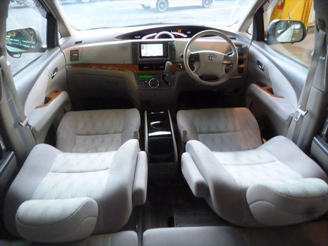 トヨタ エスティマ アエラス 両側電動スライドドア クルーズコントロール ETC