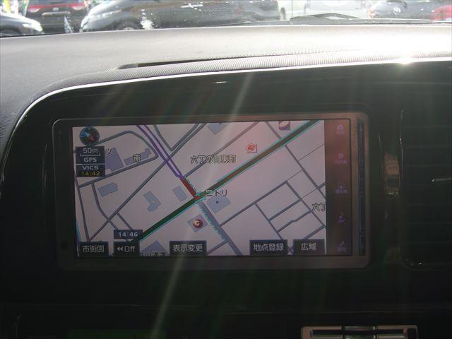 トヨタ ウィッシュ X エアロスポーツパッケージ HDDナビ バックカメラETC