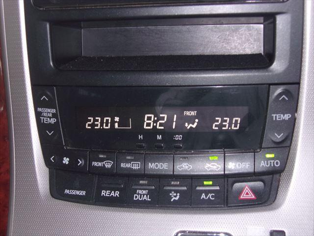 トヨタ アルファード 240S リミテッド 純正HDDナビ 後席モニタ-