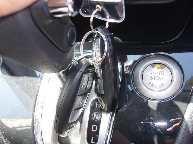 鍵を刺さなくてもエンジンをかけられるので手間が省けて便利な機能です!