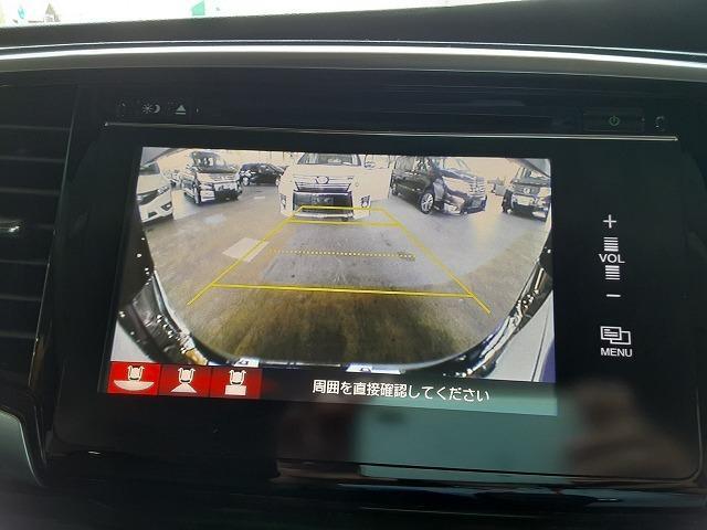 アブソルート 1オーナー車 純正インターナビ フルセグTV バックカメラ ブルートゥース 両側電動スライドドア フリップダウンモニター 衝突軽減ブレーキ クルコン パドルシフト LEDライト オートライト ETC(5枚目)