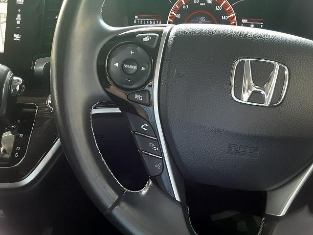 アブソルート 1オーナー車 純正インターナビ フルセグTV バックカメラ ブルートゥース 両側電動スライドドア フリップダウンモニター 衝突軽減ブレーキ クルコン パドルシフト LEDライト オートライト ETC(7枚目)