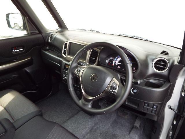 スズキ スペーシアカスタムZ Zターボ 4WD ハイブリッド CVT HID 片側電動ドア