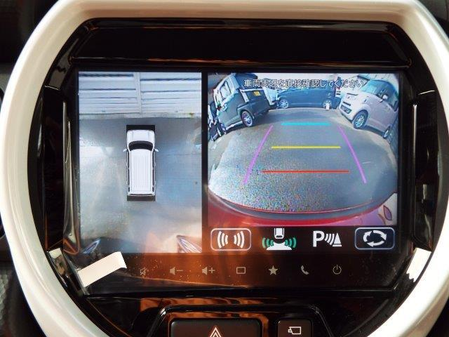 メーカーオプションの全方位モニター付きメモリーナビゲーション装着車となっています!