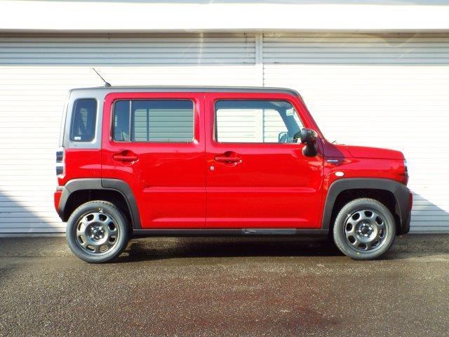 ハイブリットシステム搭載の新型ハスラー Gタイプ 4WD!登録しただけの届け出済み未使用車!軽自動車の事なら何でもお任せ下さい!ステージワンTEL022-741-0717