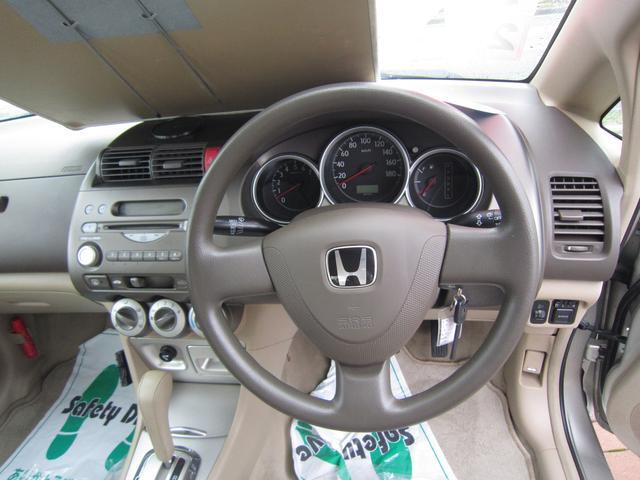 ホンダ フィットアリア 1.5A キーレス CD オートマ WエアB ABS