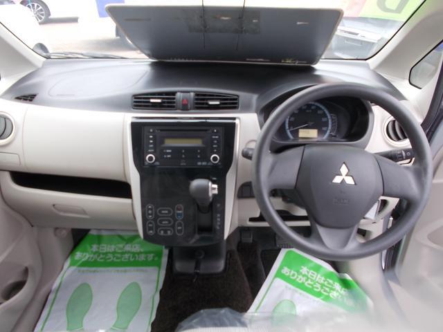 M CDチューナー オートエアコン キーレスエントリー アイドリングストップ シートヒーター 社外14インチアルミホイル 4WD(7枚目)