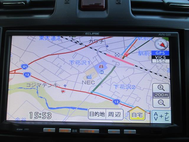 スバル インプレッサスポーツ 1.6i 4WD 社外ナビ TV ETC