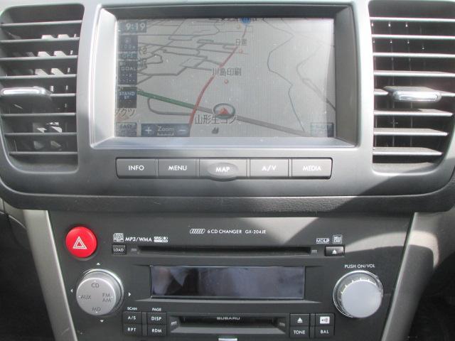 スバル レガシィB4 2.0GT 後期 純正HDDナビ ターボ 4WD