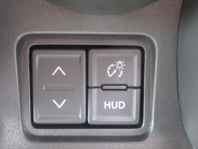 ハイブリッドG 4WD 届出済未使用車 スズキセーフティサポート 全方位モニター用カメラパッケージ ヘッドアップディスプレイ プッシュスタート クリアランスソナー オートライト スペアキー 電動格納ミラー(15枚目)
