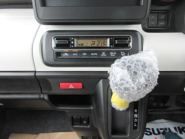 ハイブリッドG 4WD 届出済未使用車 スズキセーフティサポート 全方位モニター用カメラパッケージ ヘッドアップディスプレイ プッシュスタート クリアランスソナー オートライト スペアキー 電動格納ミラー(18枚目)