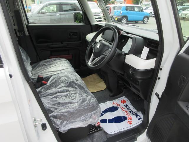 ハイブリッドG 4WD 届出済未使用車 スズキセーフティサポート 全方位モニター用カメラパッケージ ヘッドアップディスプレイ プッシュスタート クリアランスソナー オートライト スペアキー 電動格納ミラー(26枚目)