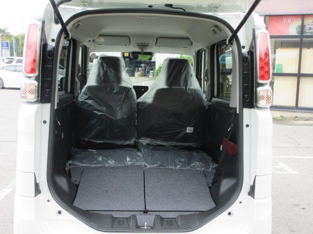 ハイブリッドG 4WD 届出済未使用車 スズキセーフティサポート 全方位モニター用カメラパッケージ ヘッドアップディスプレイ プッシュスタート クリアランスソナー オートライト スペアキー 電動格納ミラー(35枚目)