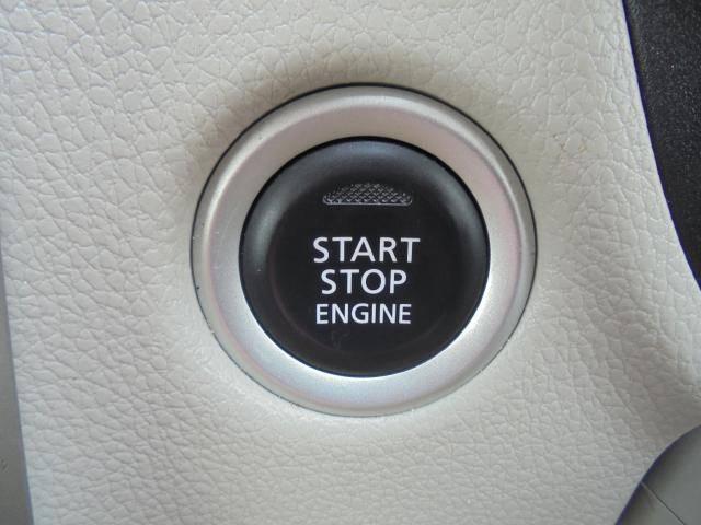 プッシュエンジンスターターなので、エンジンの始動・停止もスイッチを押すだけで簡単です。