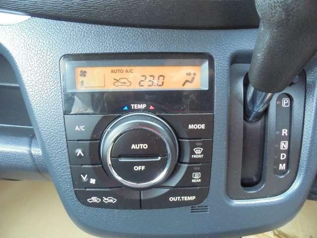 使い易いダイヤル式のオートエアコンです!温度設定しておくと、自動で風量調節してくれるんです!!