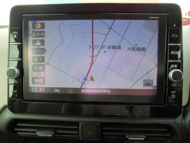 660 X 純正ナビ・アラウンドビューモニター(5枚目)