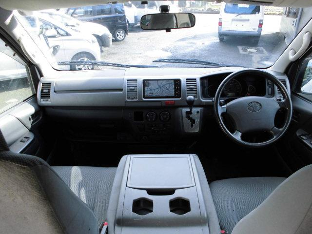 トヨタ レジアスエースバン 5ドア ロングDX 4WDディーゼルターボ ナビ Bカメラ