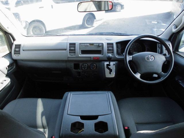 トヨタ ハイエースバン 5ドア 3型 ロングDX 4WDディーゼルターボ 3人乗り