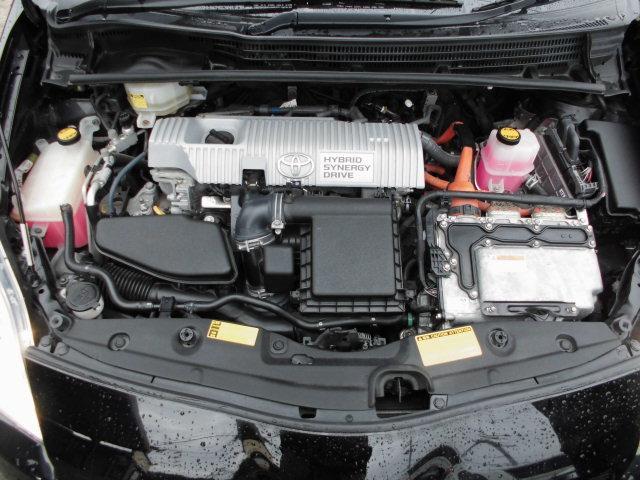 トヨタ プリウス ハイブリッドSツーリングセレクション 1年保証付き 純正ナビ