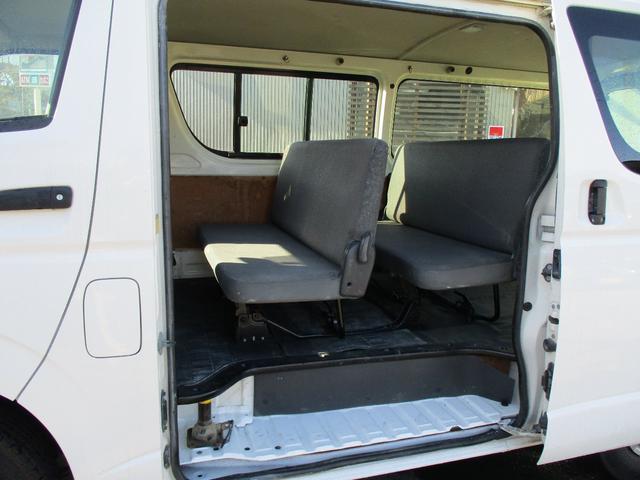 9人乗り ロングDX 4WD ディーゼルターボ リヤヒーター(12枚目)