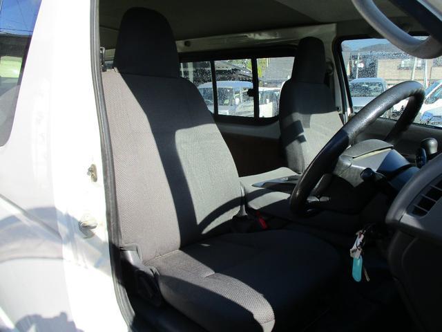 9人乗り ロングDX 4WD ディーゼルターボ リヤヒーター(16枚目)