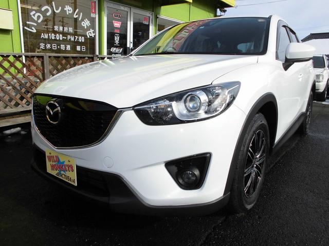 マツダ CX-5 XD D-TB 4WD新品タイヤアルミローダウン社外マフラー