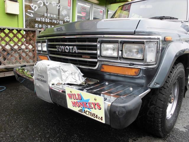 トヨタ ランドクルーザー60 VXディーゼルターボ5速MT前後デフロック付ワンオーナー