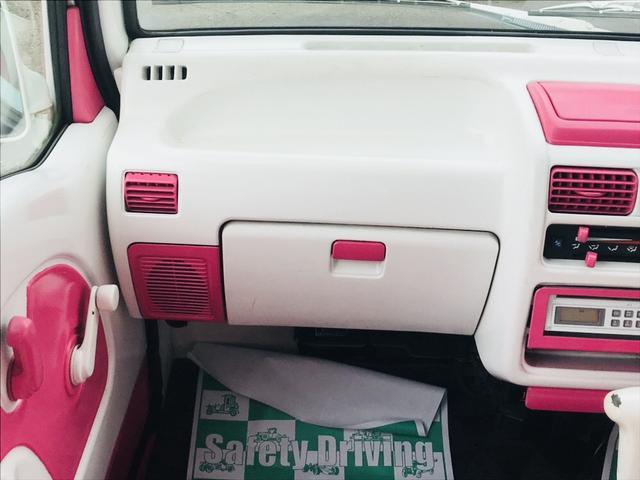 軽自動車 4WD フロアAT エアコン ピンクツートンカラー(10枚目)