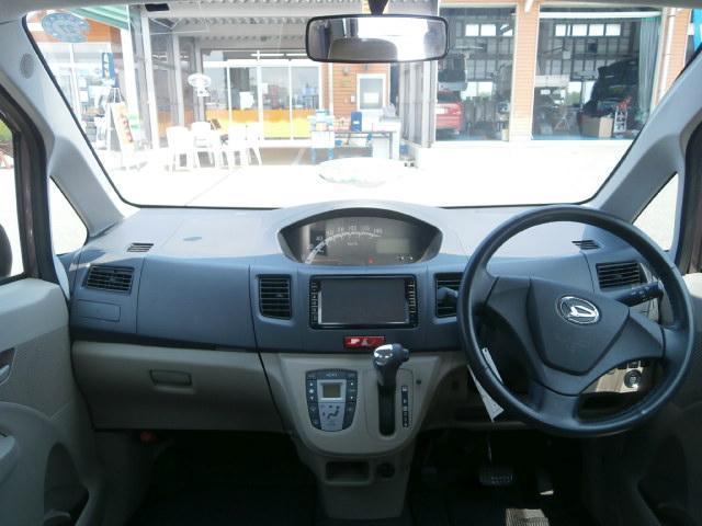 ダイハツ ムーヴ X 4WD ナビTV スマートキー アルミ